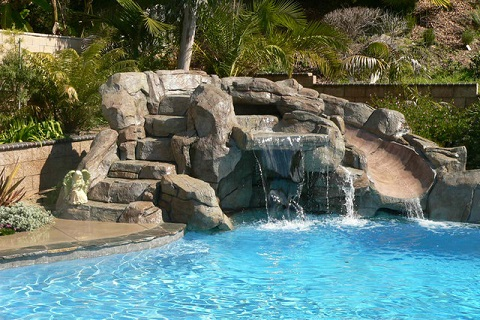 Tropical Pool Build